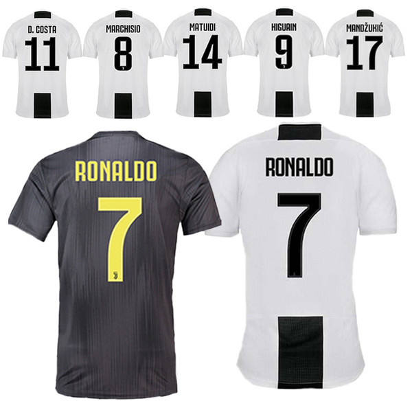 best loved a9e8a d0f5b 2019 2019 Special Offer Football Jerseys Juventus Jerseys 7 Cuadrado 9  Higuain Jerseys 10 Dybala 11 Costa 17 Mandzukic From Lks15966, $12.59   ...