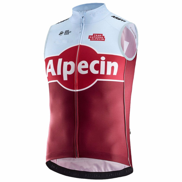 best selling 2018 KATUSHA PRO TEAM RED SUMMER SHORT SLEEVELESS VEST ROPA CICLISMO CYCLING JERSEY WEAR SIZE XS-4XL