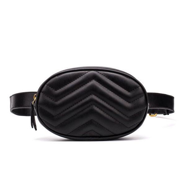 Belt Bag Women Waist Bags Waterproof Crossbody bag Vintage design PU Leather