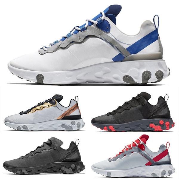 Compre Nike Epic React Element 87 Undercover Fashio Off Brand Hombres Plataforma Mujer Zapatos De Lona Para Hombre Entrenadores Atléticos Zapatillas