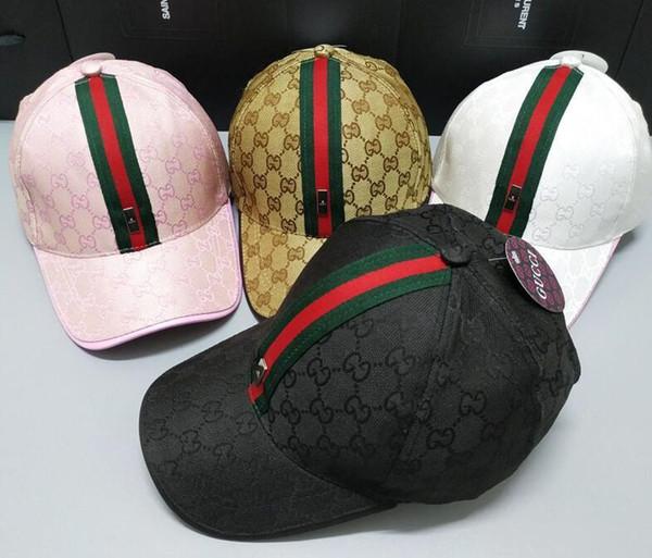 281fGucciMens justierbarer Baseball-Schmetterling Caps Luxuxdame Fashion Hut Frühling und Herbst-Frauen-Freizeit-Kappen-Geschenk