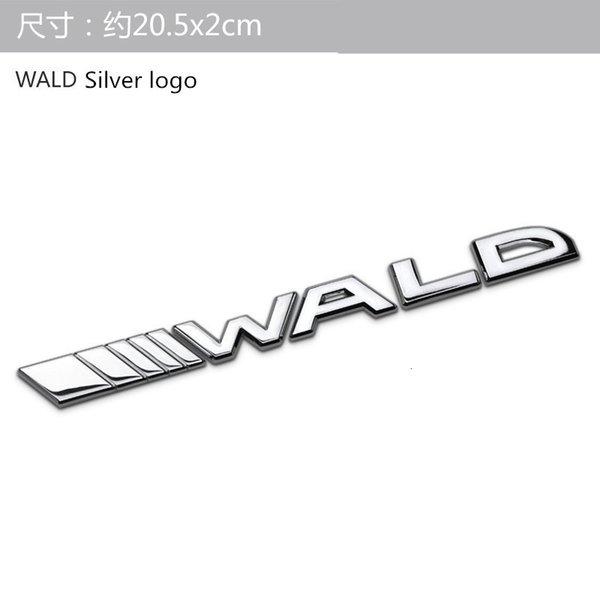 logotipo de wald silver