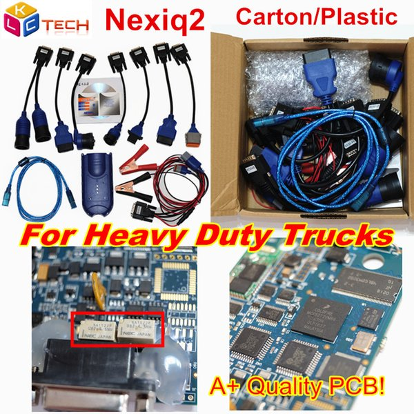 Nexiq2 USB Link with bluetooth Auto Heavy Duty Truck Nexiq 2 with Bluetooth Function Diagnostic Tool USB Link Better Than DPA5