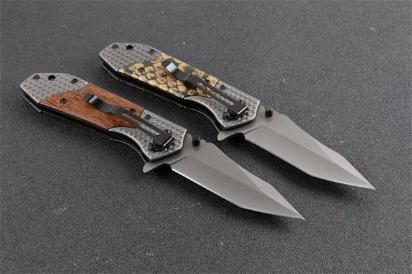 Browning X66 Point Tanto Point Ouverture Assistée Lame Couteau Pliant En Plein Air Outils De Camping De Poche EDC 2 Styles Tactique Couteaux De Survie P52R F