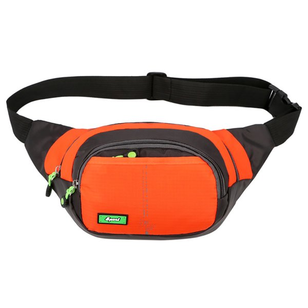 Green 2018 Unisex Outdoor Sport Solid Oxford Cloth Waist Bag Fanny Pack Belt Bag Travel Purse Waist Bag