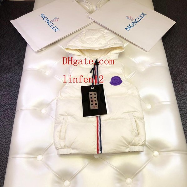 2019 yaz çocuk giyim boys çocuk Katı renk işlemeli fermuar kapüşonlu yelek çocuk hoodie bebek kız giysileri bebek kız giysileri AB-3
