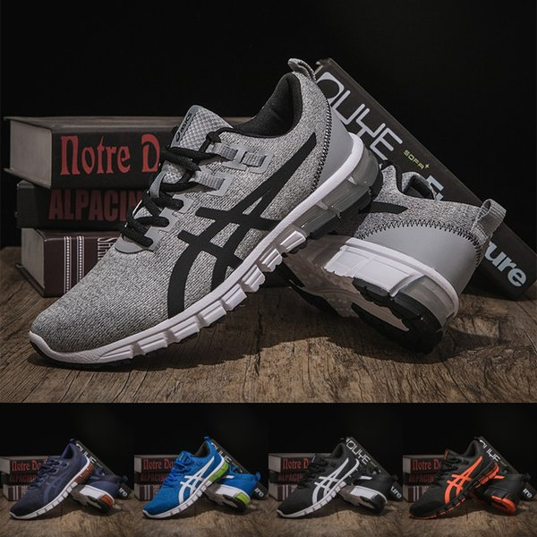 New Arrivals Asics Gel Quantum 90 Buffer Running Shoes Men Women Grey Black Sport Sneaker Designer Shoes Size 36 45 Canada 2019 From Strive1616, CAD