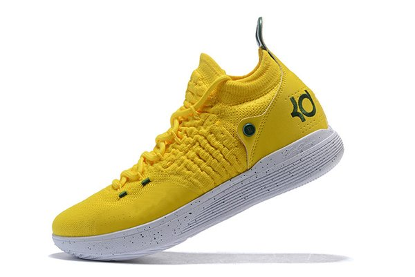 2018 KD 11 EP Elite Basketball Shoes 11s Men Multicolor Peach Jam Mens Doernbecher Trainers Kevin Durant 10 EYBL All-Star BHM Sneakers 7-12