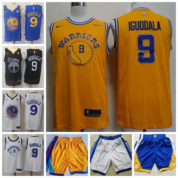 watch aa9c1 30ed4 2019 Mens 9 Andre Iguodala Golden State Jersey Warriors Basketball Jerseys  Stitched New City Edition Andre Iguodala Jerseys Warriors Shorts Bride ...