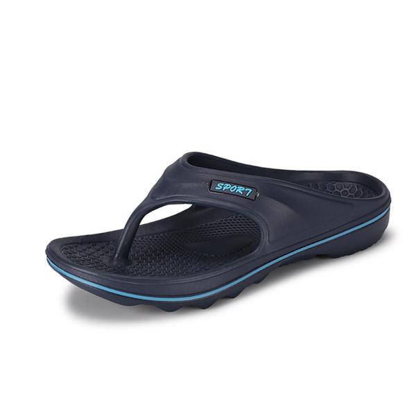 Perimedes Non-slip été sandales plates hommes Bohemia plage bascule classiques Le non-slip pantoufles solides chaussures hommes chaussures femme