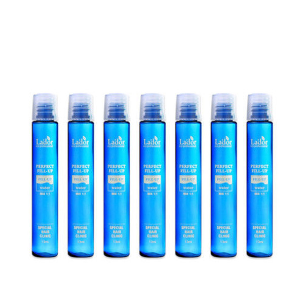 LADOR Perfect Hair Fill-up 7pcs Keratin Hair Treatment Dry Damaged Repair Keratin Scalp Treatment Make Shining Smooth