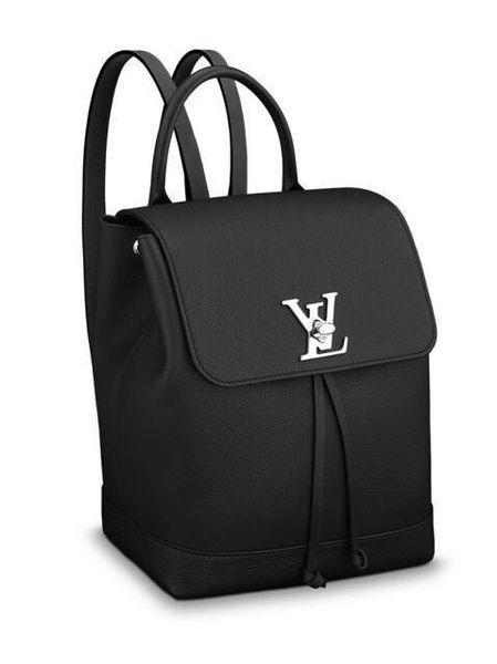 Lockme Backpack M41815 новые женские модные показы сумки на ремне сумки сумки верхние ручки сумки через плечо сумка