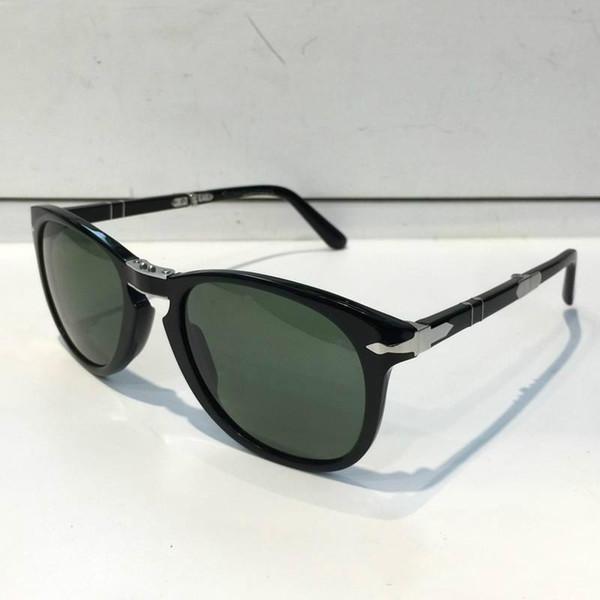 Persol Sonnenbrille 714 Serie Italienische Designerbrille im Pliot-Stil Einzigartige Form Hochwertiger UV400-Schutz, der im Klappstil zusammengelegt werden kann