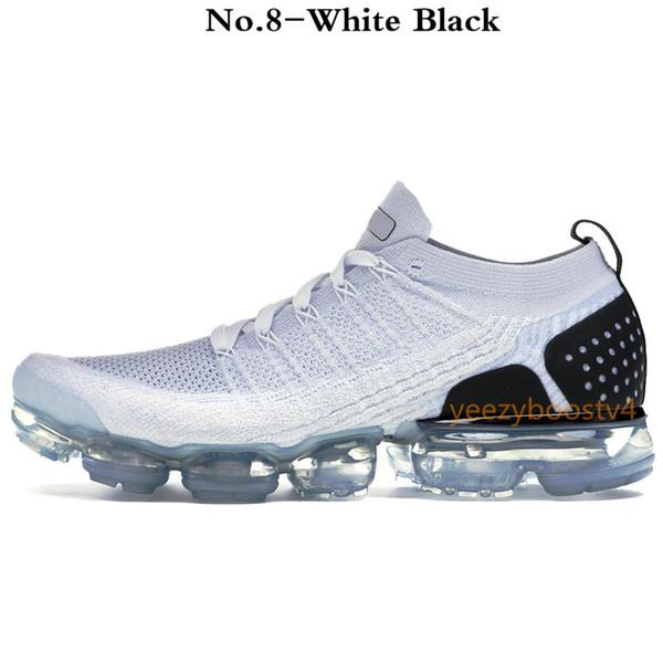 No.8-Blanco Negro