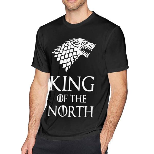 Мужская особенная игра Throne King в северной модной классной футболке