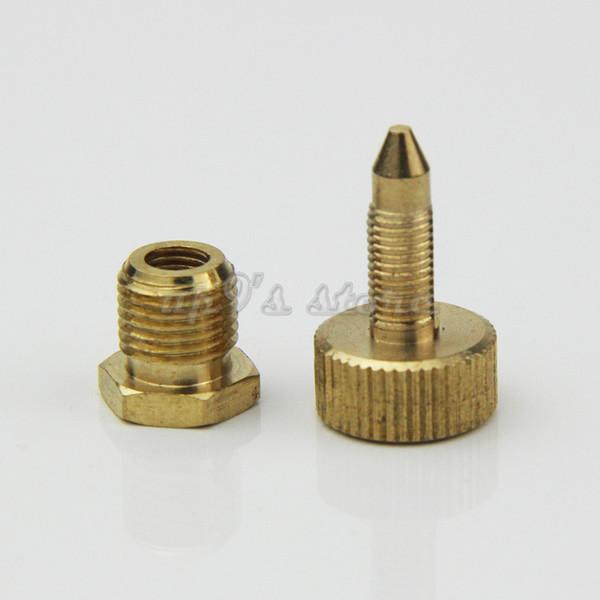 Pompa PCP Airsoft Pompa ad alta pressione Pezzi di ricambio Vite di spurgo aria Rame 300bar / 4500psi Kit di sostituzione della valvola di spurgo di sicurezza