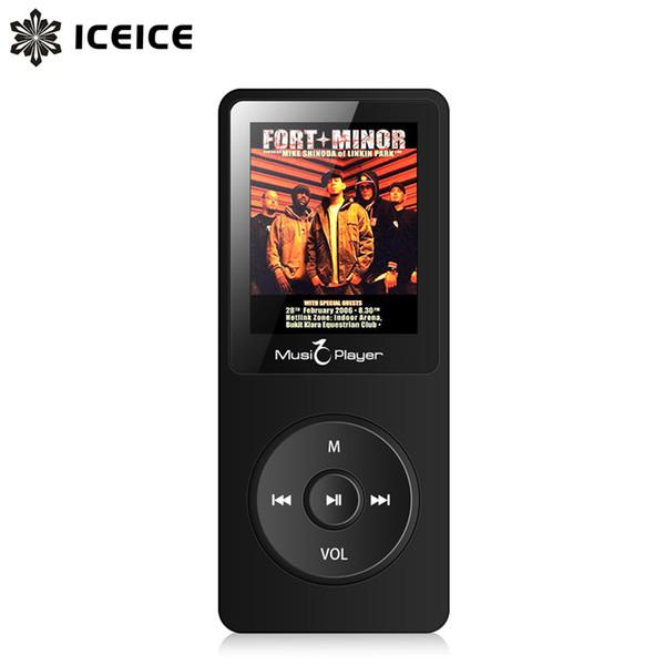 ICEICE Music MP3 Player with 1.8 inch Screen Sports MP3 hi fi fm radio mini sport MP 3 music player portable metal walkman mp-3