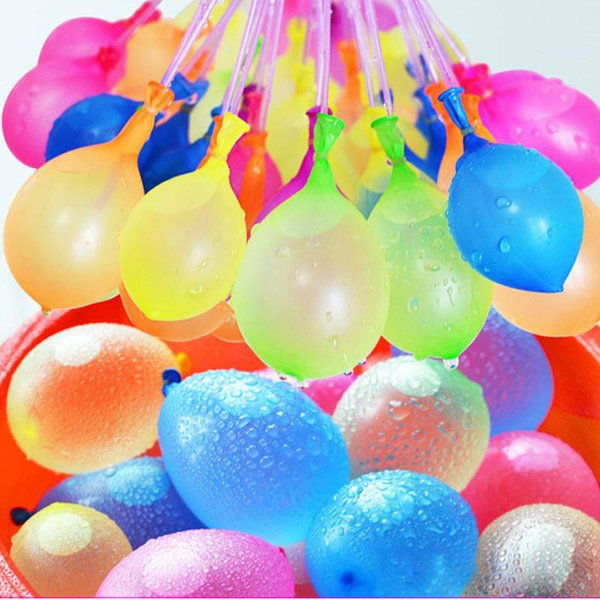 Latex Water Balloons Balls 111pcs/set Water Bomb Pump Rapid Injection Summer Beach Games Water inflatable Sprinking Ballons