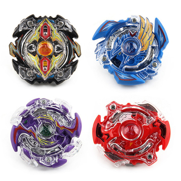 4pcs Bey blade Beyblade Burst Stadium Bayblade Metal Fusion 4D With Launcher Handle Stage Spinning Top Toys Gift Children BB807D DHL