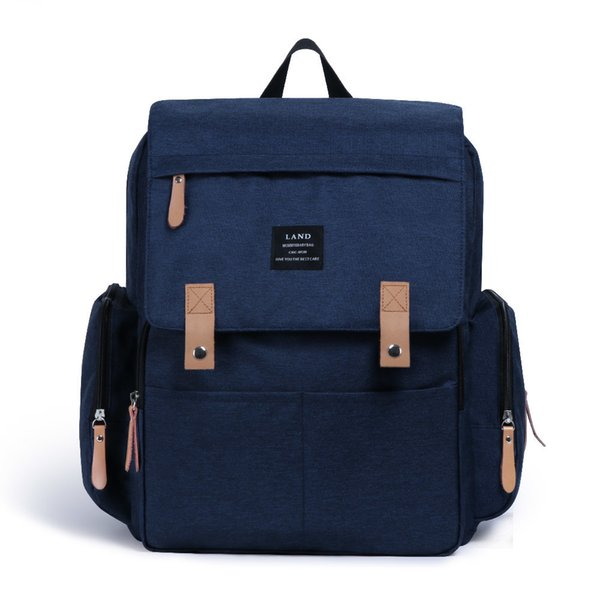 2019 Land Mommy Diaper Bags Backpack Landuo Mummy Large Capacity Travel Nappy Backpacks Convenient Baby Nursing Bags 11 Types MX190727