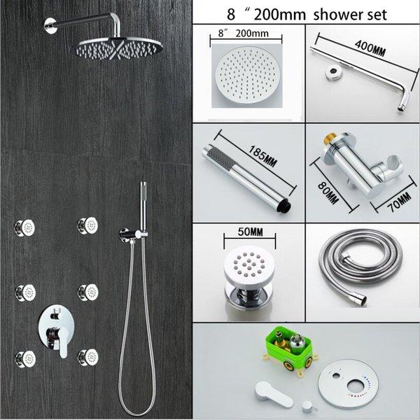 """8"""" shower set"""