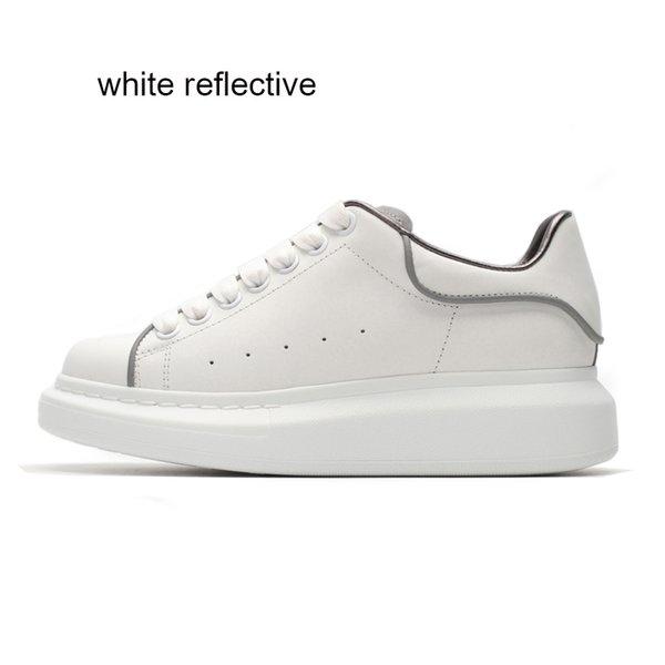 white reflective