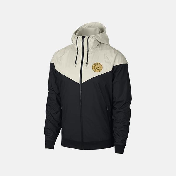 2019 New Designer Jacket Coat Autumn Brand Windrunner Windbreaker Jacket Mens Hoodie Sportswear Soccer Team Pattern Zipper Clothing