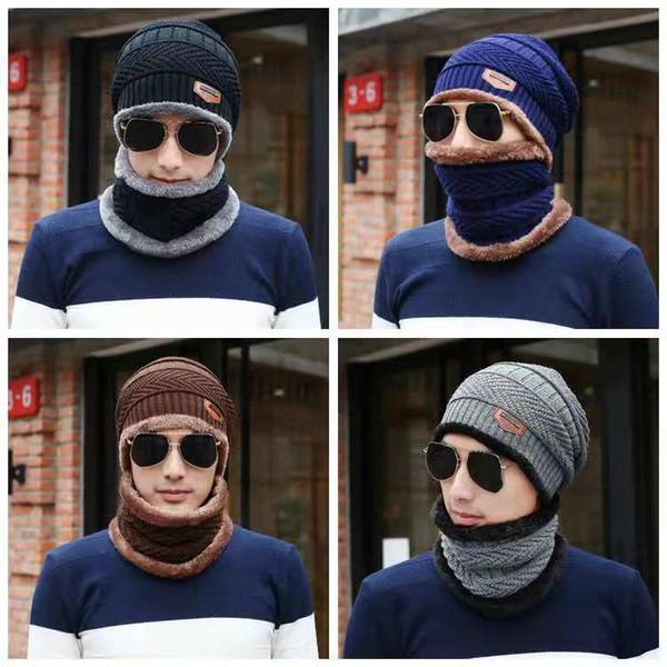 Lã e chapéu pilha homens e mulheres inverno lazer nerk cap de duas peças que montam o carro elétrico para manter cap tricô warm