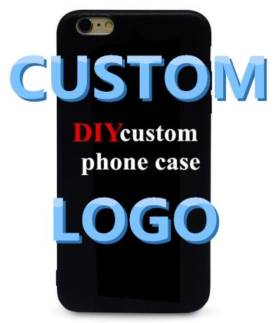 Customized Logo Phone Case custom cases For 6 7 xr xs max Samsung Galaxy S6 S7 Edge S8 S9 Plus DIY Case