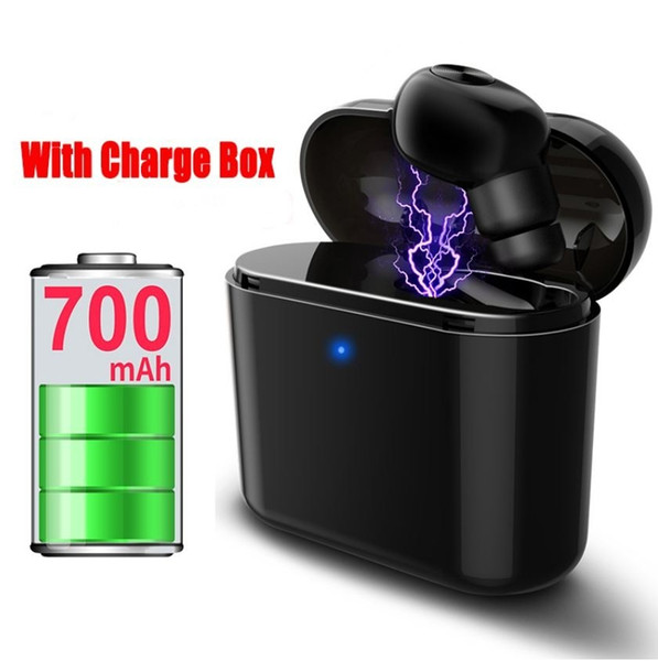 Mini Wireless Bluetooth Earphone Earbud Headset With Charging Box Mic For All Smart phone Iphone Samsung