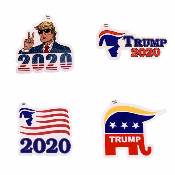Donald Trump Notebook Sticker American President Election Trump paster hot sale trump stickers for kids gift