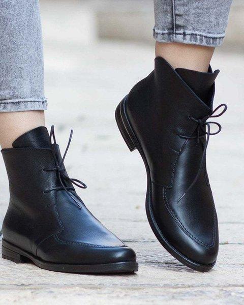 Siyah Kadın Boots