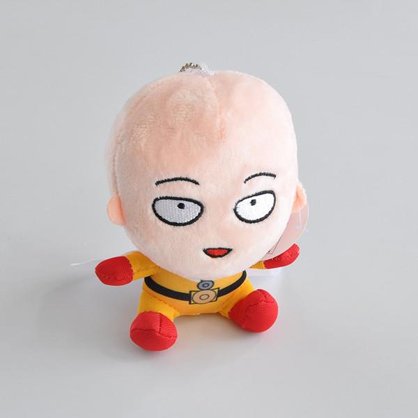 Anime ONE PUNCH-MAN Brinquedos de Pelúcia Brinquedos de Pelúcia Pingente de Pelúcia Macia Bonecas 12 cm de Alta Qualidade Frete Grátis