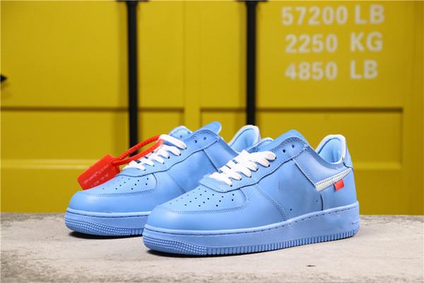nike air force 1 bleu blanc