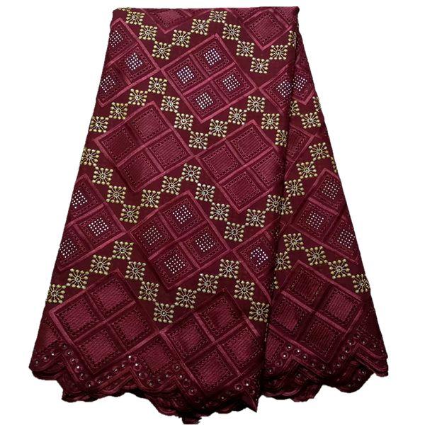 top popular Nigerian Lace fabrics 2017 African Swiss Voile Lace High Quality Swiss Voile Lace in Switzerland For Wedding 2019