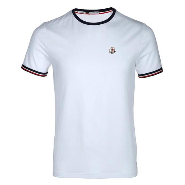 Polos de lujo para hombre 2 colores de manga corta impresa camiseta de verano M-XXXL Turn Down Collar Tops de diseñador