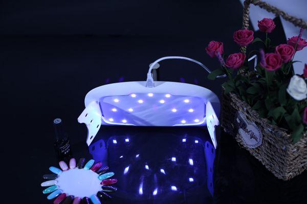 Fabrika Fiyat uv lambaları çivi Jel LED tırnak lambası uv led uv kür lamba Nail Art Manikür tırnak kurutucu