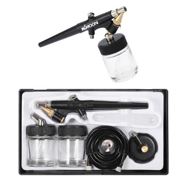 Pistolet à peinture aérographe pour Nail Art Tatouage Maquillage Gâteau Peinture Manucure Simple Action Air Brush Outil 0.8mm