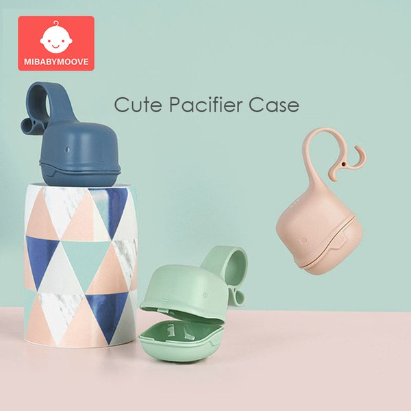 Baby Infant Kids Travel Soother Pacifier Dummy Storage Case Box Cover Holder 3PC