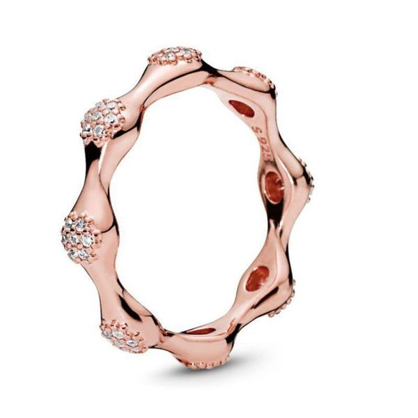 Anello di rosa + box