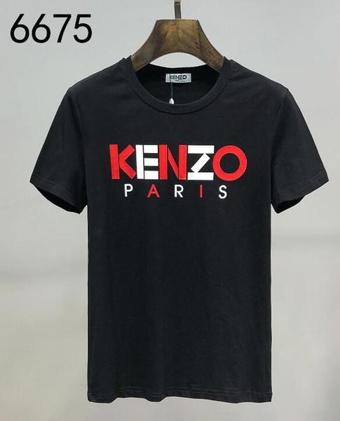Mais recente mens Designers Camiseta XXM Mens Branded Plays Jogos Bordado Coração Homens Amantes Impresso Camiseta Hip-hopTops Kenzo Mulheres