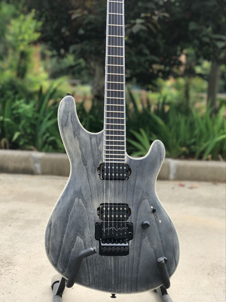 New custom-style electric guitar with personalized customization