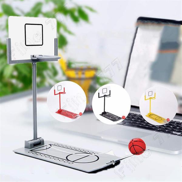 Hottest Mini desktop folding basketball machine decompression shooting machine creative desktop micro decompression toys kids toys