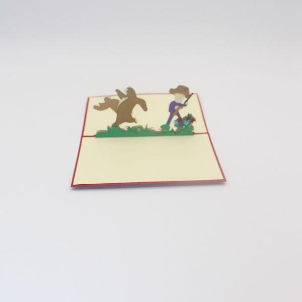 Großhandel 3d Handmade Happy Birthday Grußkarten Geschenk Mode Hohl Cartoon Bär Karte Für Kinder Freund Party Von Hotty521 212 Auf Dedhgatecom