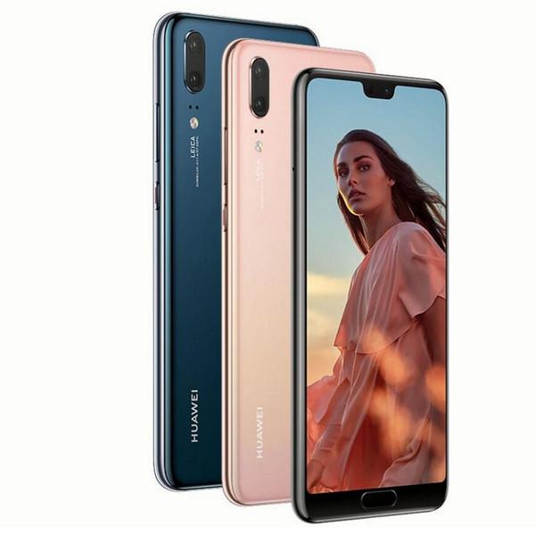 InStock Huawei P20 Smartphone Android 8.1 6G RAM 64G / 128G ROM Kirin 970 Yüz Kimliği 5.8 '' Tam Görünüm Ekran Octa Çekirdek Mobil Ph