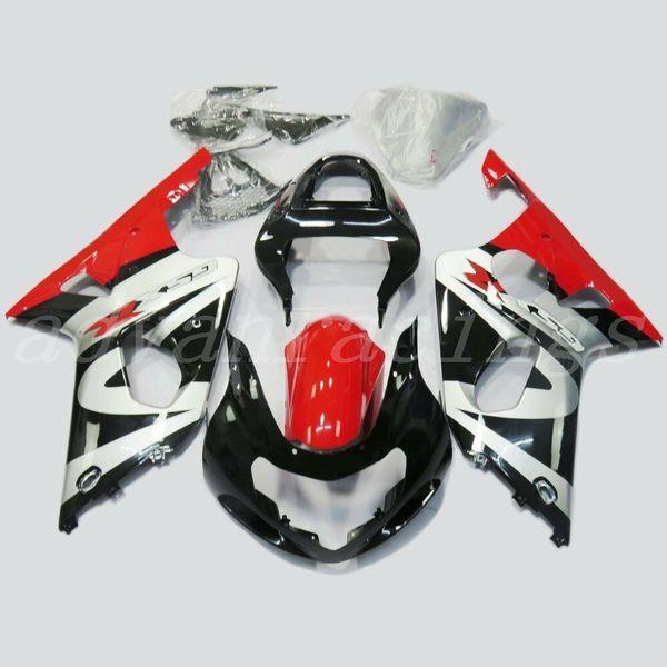 Новые ABS обтекатели для мотоцикла, пригодные для Suzuki GSXR1000 K2 2000 2001 2002 GSX-R1000 1000cc 00 01 02 комплект кузова хороший белый черный красный
