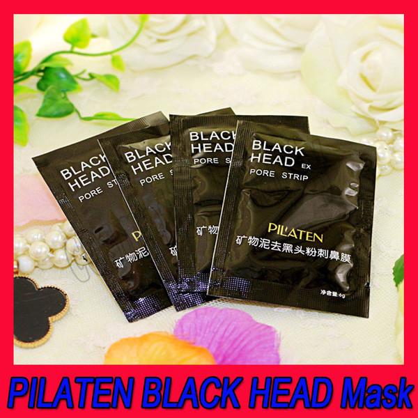New Face Care Makeup PILATEN BLACK HEAD Maschera Nasale Mineral Fango Comedone Acne Nasol Remover Nasal Pore Cleaner Rimuovi Naso Blackhead 6g