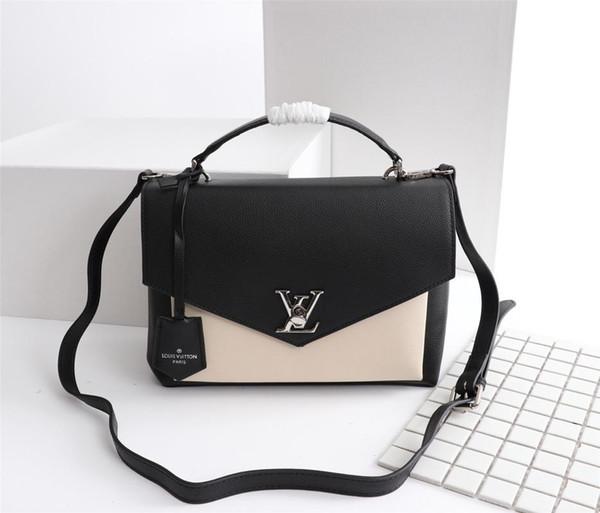 Мужские дорожные сумки Женская сумка из натуральной кожи Сумки из натуральной кожи 45 сумок через плечо M54878 размер 28-20-11см