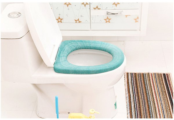 Toilet Seat Warmer Winter Comfortable Soft Washable Toilet Seat Mat For Home Decor Closestool Mat Bathroom Accessories