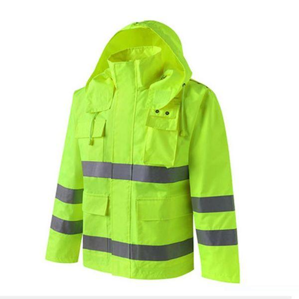 Men Hooded Long Sleece Windproof Rain Jacket 2017 Outdoor Sports Camping Hiking Clothing Anti-dust Quick Dry Waterproof Coats